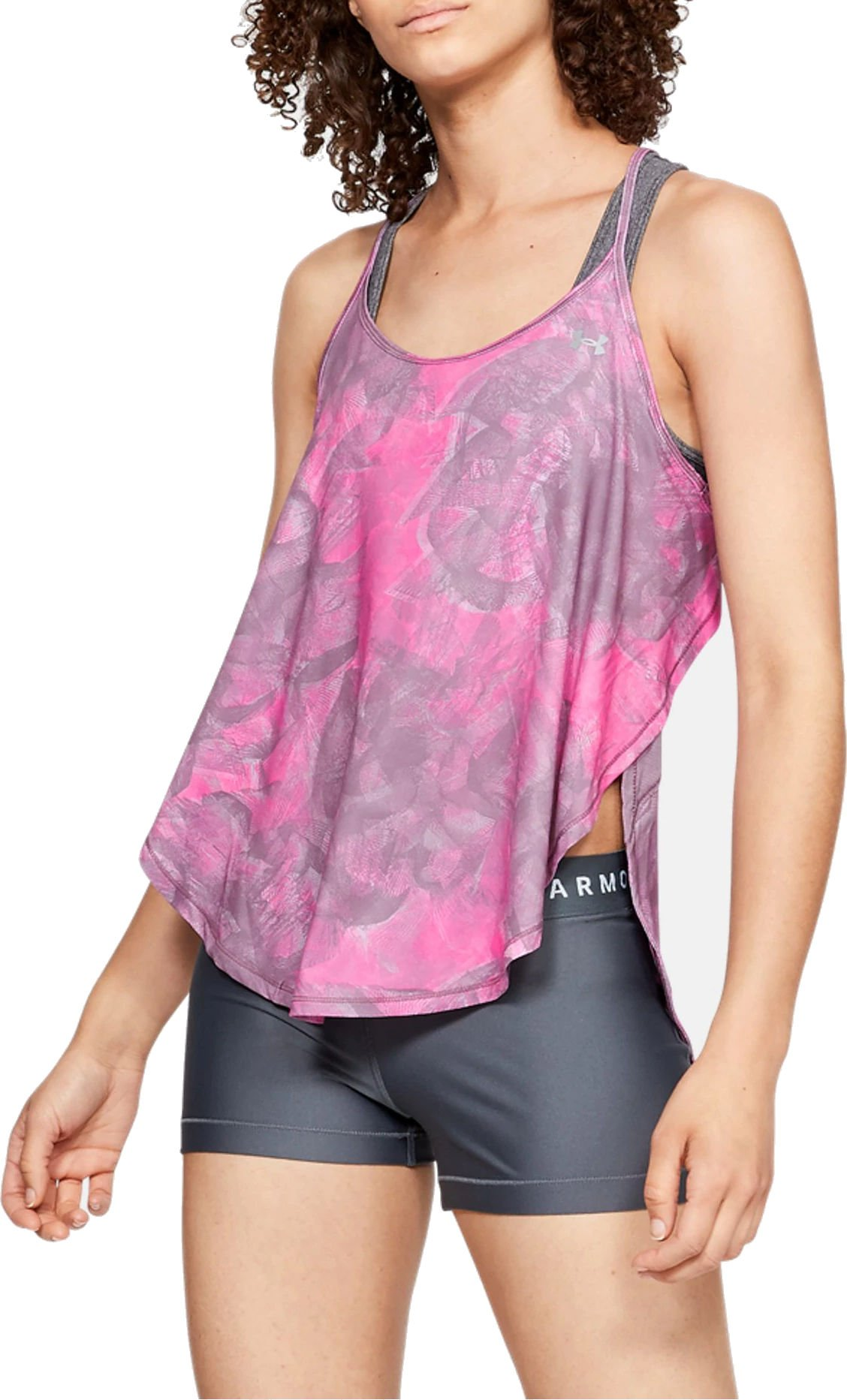 Camiseta sin mangas Under Armour Armour Sport Tank - Flo Ink Print