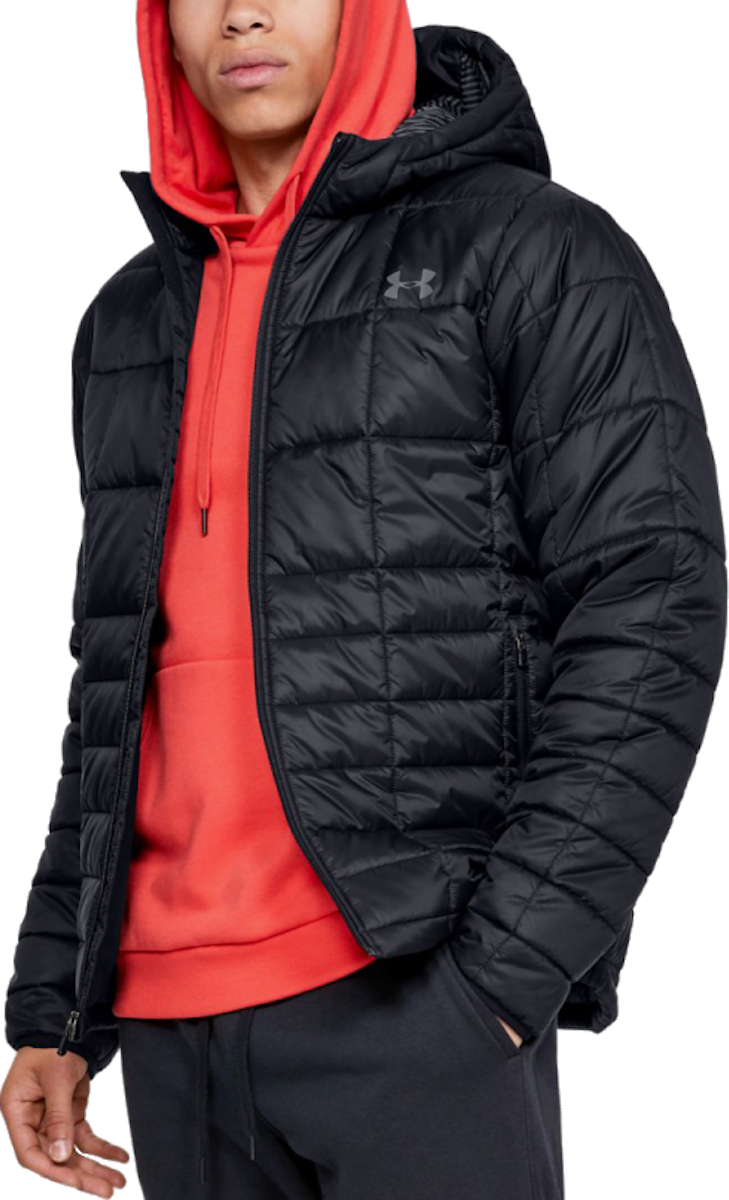 Chaqueta con capucha Under Armour UA INSULATED Hooded JKT