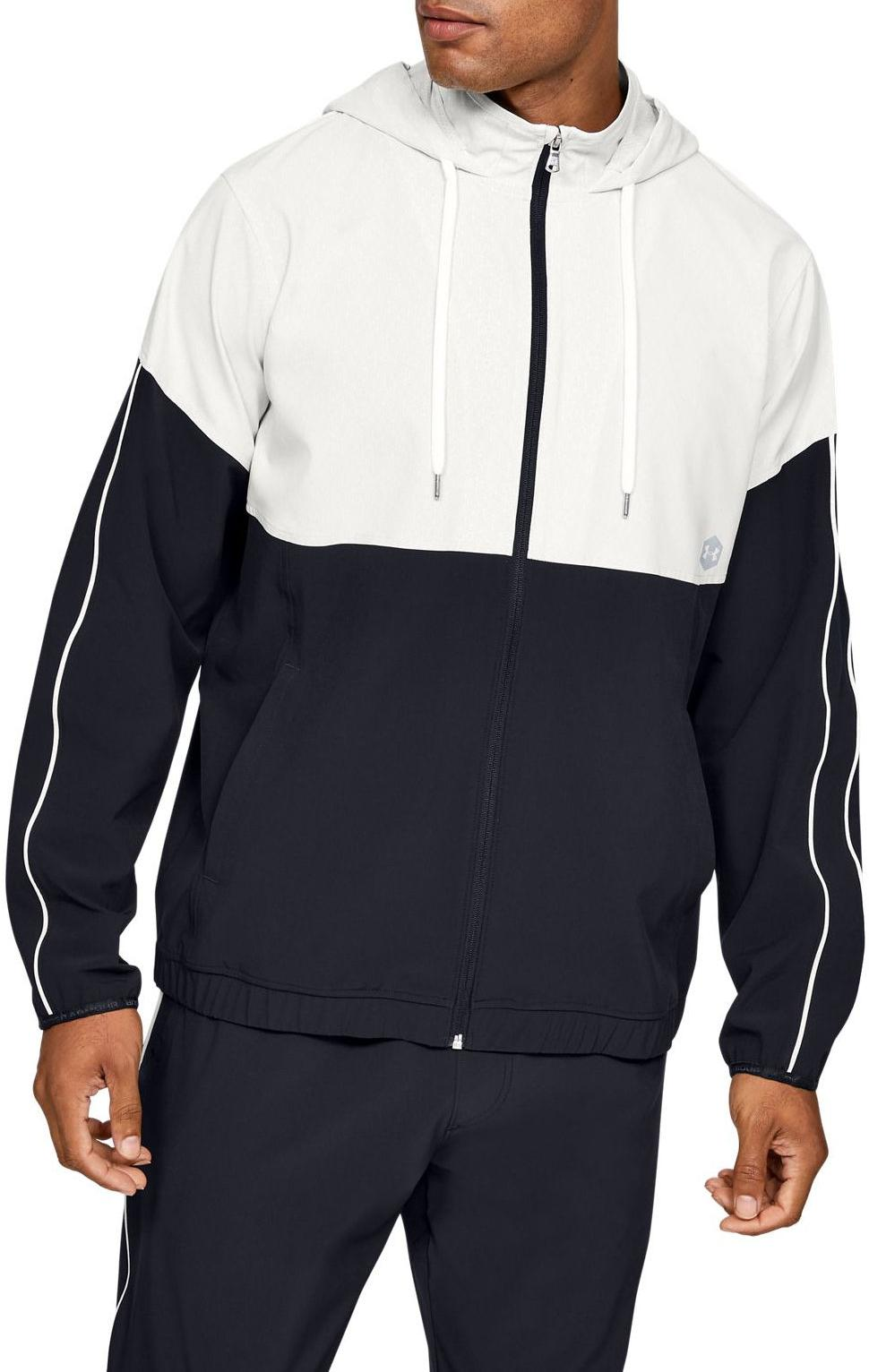 Sudadera con capucha Under Armour Athlete Recovery Woven Warm Up Top