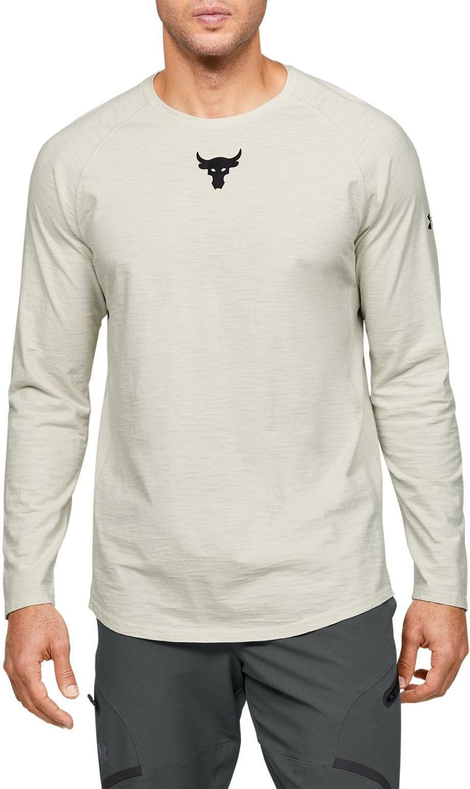 Camiseta de manga larga Under Armour UA Project Rock CC LS