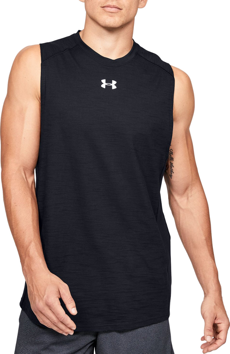 Camiseta sin mangas Under Armour UA Charged Cotton Tank