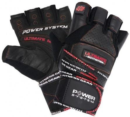 Guantes Power System POWER SYSTEM-GLOVES ULTIMATE MOTIVATION-RED