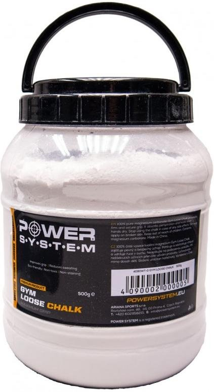 Magnesio Power System POWER SYSTEM-GYM LOOSE CHALK-500G