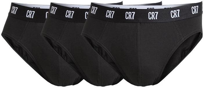 Calzoncillos bóxer CR7 Basic Underwear Brief 3P